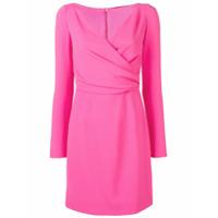 Dolce & Gabbana Vestido Slim Mini - Rosa
