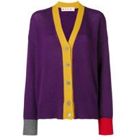 Marni Cardigã De Cashmere - Purple