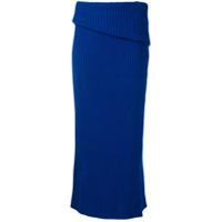 Jacquemus Saia De Tricô - Azul