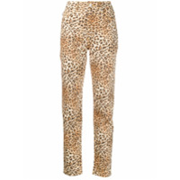 Fiorucci Calça Jeans Tara Com Estampa De Leopardo - Neutro