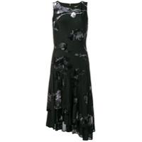 Dkny Vestido Com Estampa Floral - Preto