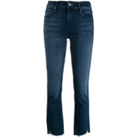 Mother Calça Jeans Reta - Azul