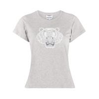 Kenzo Camiseta Slim - Cinza