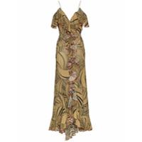 De La Vali Vestido Longo 'jolene' - Marrom
