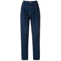 Amapô Calça Jeans Pregas Royal - Azul