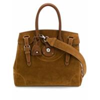 Ralph Lauren Collection Bolsa Tote Com Alça De Mão - Marrom