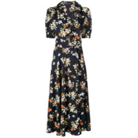Jill Jill Stuart Vestido Com Estampa Floral - Preto