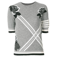 Thom Browne Camisa De Cashmere - Cinza