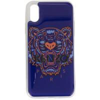 Kenzo Capa Para Iphone X Tiger - Roxo