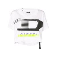 Diesel Camiseta Com Estampa De Logo - Branco