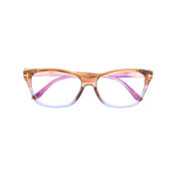 Tom Ford Eyewear Armação De Óculos Retangular - Neutro