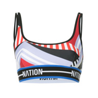 P.e Nation Maracana Moto Crop Top - Estampado