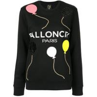 Nil & Mon Camiseta Ballonciel - Preto