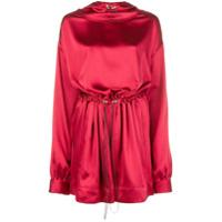Rouge Margaux Vestido Com Capuz - Vermelho