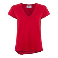 Andrea Bogosian T-Shirt Gola V - Vermelho