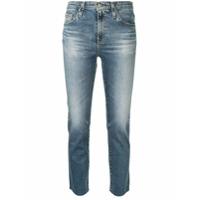 Ag Jeans Calça Jeans Skinny Cropped - Azul