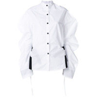 Eudon Choi Oversized Sleeve Shirt - Branco