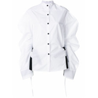 Eudon Choi Oversized Sleeve Shirt - Branco