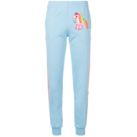 Moschino Calça Esportiva 'my Little Pony' - Azul