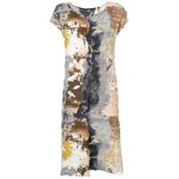 Issey Miyake Paint Crush Print Dress - Neutro