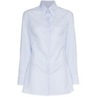 Wright Le Chapelain Camisa Listrada - Azul