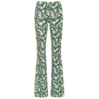 Track & Field Calça Flare Estampada Tf Power® - Verde