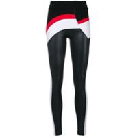 No Ka' Oi Calça Legging Color Block - Preto