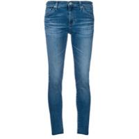 Ag Jeans Calça Jeans Cropped - Azul