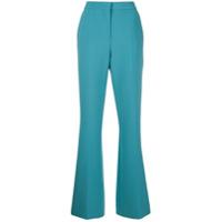 Victoria Victoria Beckham Calça De Alfaiataria Flare - Azul