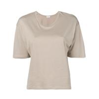 Filippa-K Camiseta Cropped - Neutro