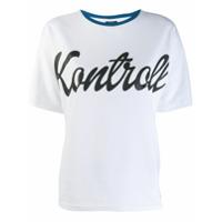 Kappa Kontroll Camiseta Com Estampa Kontroll - Branco