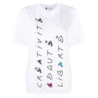 Lanvin Camiseta Com Estampa - Branco