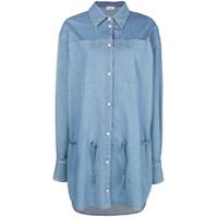 Sonia Rykiel Chemise Jeans - Azul