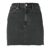 Calvin Klein Jeans Saia Jeans Slim - Preto