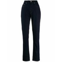 Katharine Hamnett London Calça Jeans Cenoura Cintura Alta - Azul
