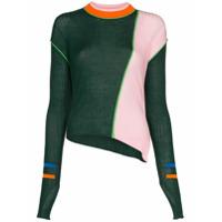 I-Am-Chen Suéter De Tricô Listrado - Verde