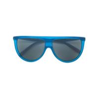 Celine Eyewear Óculos De Sol 'thin Shadow' - Azul
