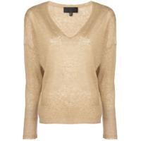 Nili Lotan V-Neck Sweater - Amarelo