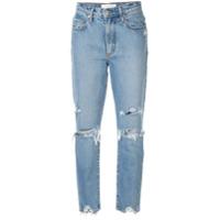 Nobody Denim Calça Jeans Slim 'bessette' - Azul
