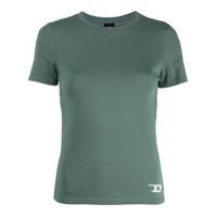 Diesel Camiseta Com Logo - Verde
