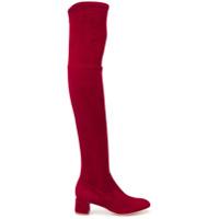 Parallèle Over-The-Knee Boots - Vermelho