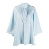 Palomo Spain Knotted Shirt - Azul