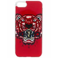 Kenzo Capa Para Iphone 8 Estampada - Vermelho
