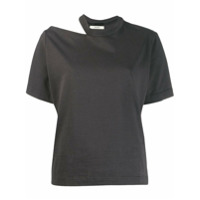 Zilver Camiseta Slash Decote Careca - Cinza