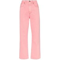 Slvrlake Calça Jeans London Reta - Rosa