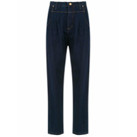 Amapô Calça Jeans 'kingston' Pregas - Azul