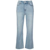 Paige Calça Jeans Flare Atley - Azul
