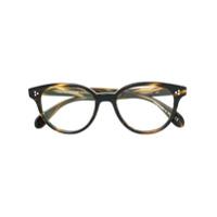 Oliver Peoples Armação De Óculos 'martelle' - Marrom