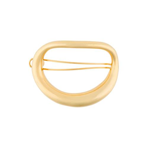 Imagem de Charlotte Chesnais Presilha de cabelo 'Turtle' banhada a ouro - Metálico