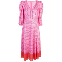 Olivia Rubin Vestido Com Poás - Rosa